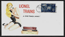 Lionel 2028 GP-7 Engine & Pin Up Girl Featured on Collector's Envelope *A253