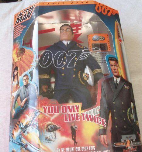 Action Uomo James Bond 007 si vive solo due volte
