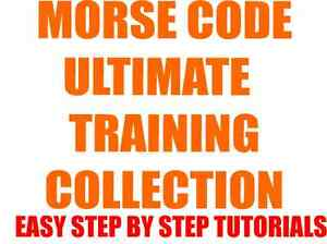 Details about LEARN MORSE CODE & HAM RADIO FAST TRAINING LEARNING LESSON  TUTORIAL E-Delivery