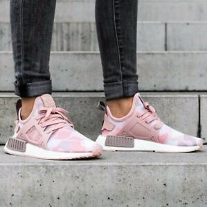 c29b7bfcda4e7 ADIDAS NMD XR1 DUCK CAMO PINK WHITE BA7753 SHOES WOMENS PURE BOOST ...