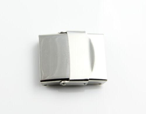 Acero inoxidable pulido cierre ID 18 x 3 mm fabrican pulsera joyas cierre