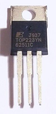 5 PCS TOP227YN TO-220 TOP227 Three-terminal Off-line PWM Switch