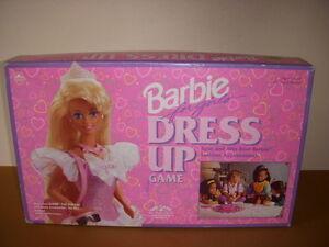 girl games dress up barbie