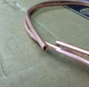 3ft Long Live Steam 0.7mm Wall Diligent 5/32 Copper Tube 22g