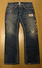 Men's True Religion  Ricky Super T dark wash jeans size 36x34