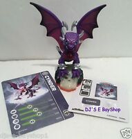 Skylanders Giants Cynder Brand Loose + Collectors Card, Sticker & Web Code