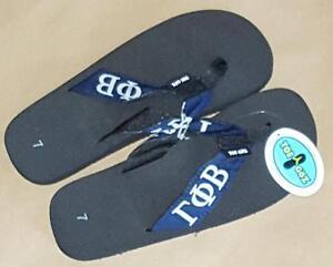 a644197e227cf7 Gamma Phi Beta Sorority Women s Toe Goz Collegiate Flip Flops—Size 7 ...