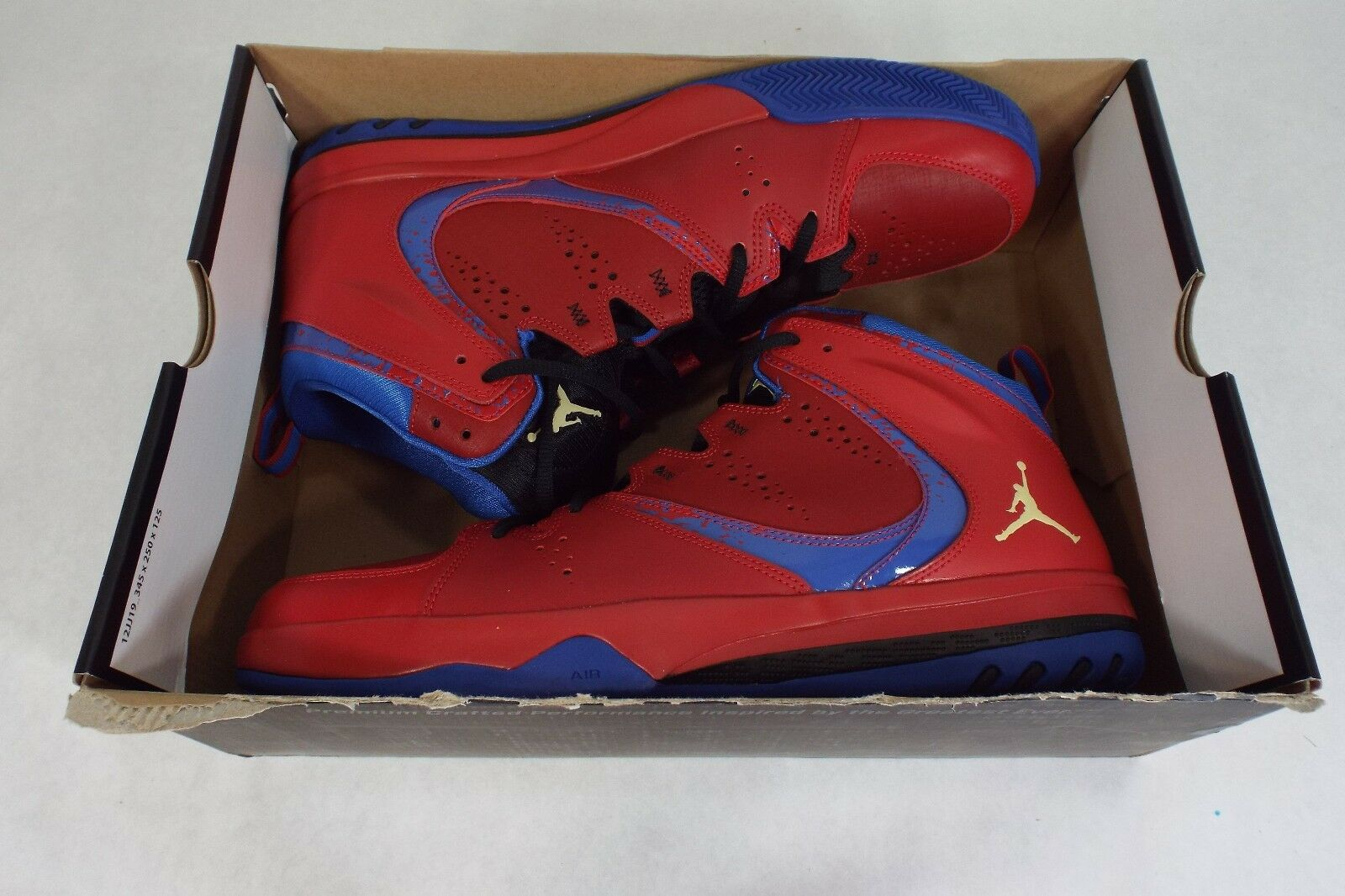 New Mens 13 NIKE Jordan Shoes Phase 23 2 Red Basketball Shoes Jordan  115 602671-607 b59bf7