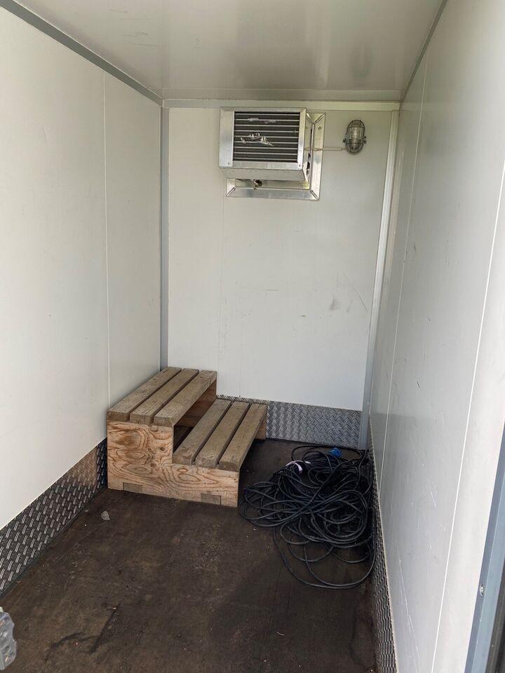 Køletrailer, Humbaur, lastevne (kg): 485