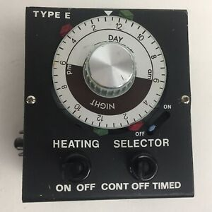 Details About Untested Vintage International Janitor Ltd Type E Heating Selector Timer