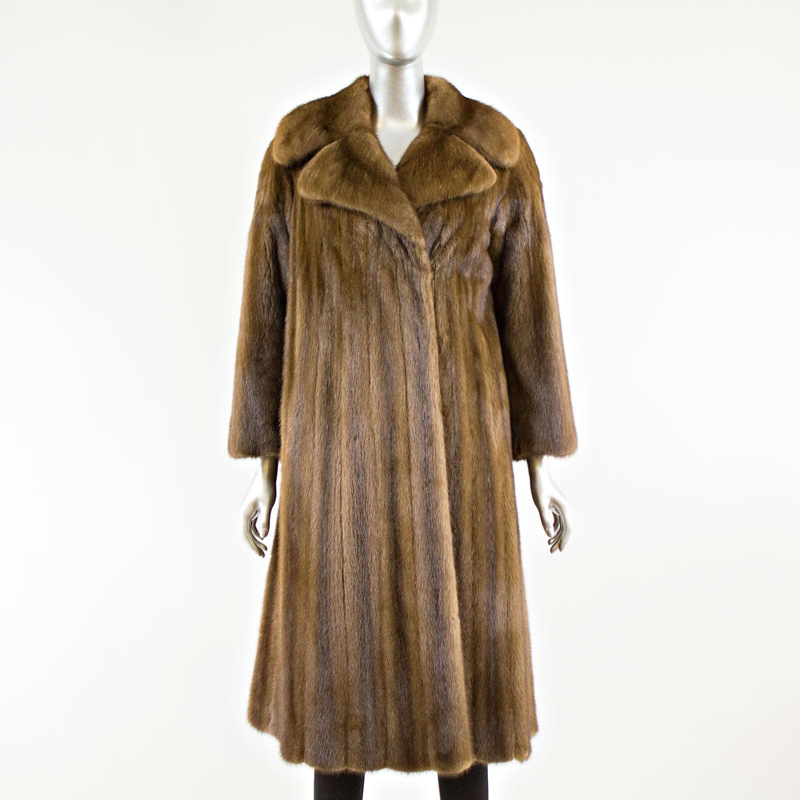 Lunaraine Mink Fur Coat - Size XS