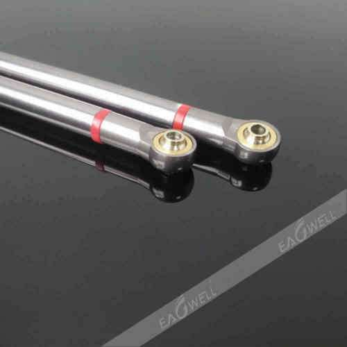 US 8x//Set Aluminum Link Rod 313MM Wheelbase For 1//10 RC Car Crawler Axial SCX10