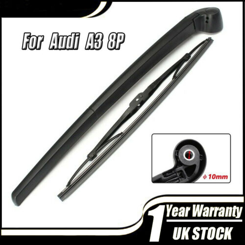 Rear Wiper Arm Blade Set For Audi A3 8P 2003 2004 2005 2006 2007 2008 UK