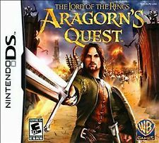 Lord of the Rings: Aragorn's Quest (Nintendo DS) Lite Dsi xl 2ds 3ds xl