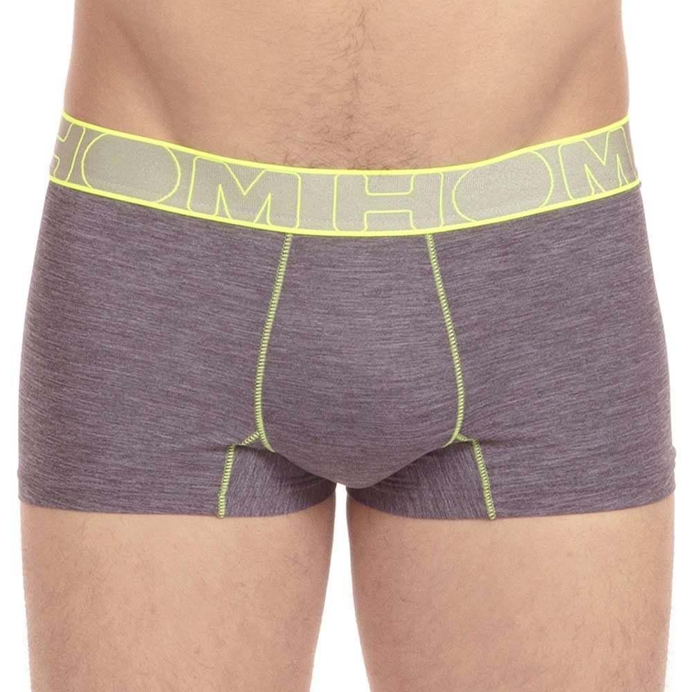Sous Courtes Bordure vêtements Hommes Trunk Gris Boxer De Ondes Sport Hom Contrastée Brief YqpdY