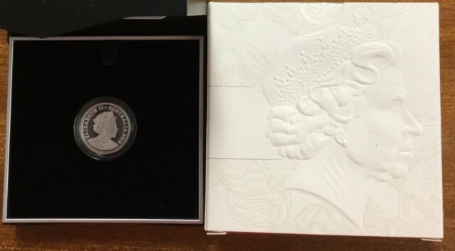2019 $1 double header - 6th portrait fine Silver proof coin