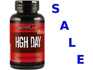 Details about HGH DAY 60 cap ActivLab Natural Hormone Enhancer Supplement  MACA Arginine