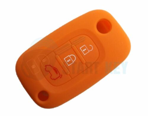 Smart fourfour fortwo 453 3Tasten Klapp Schlüssel Silikon Hülle in 8 Farben