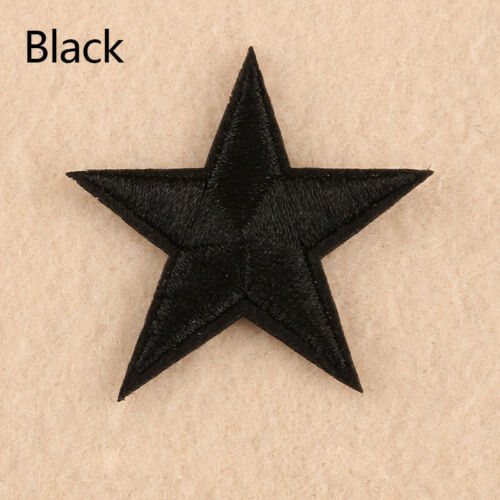 10PCs Star Embroidery Sew Iron On On Patch Patches Applique Bag Clothes Badge