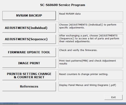Service Program SureColor s60600