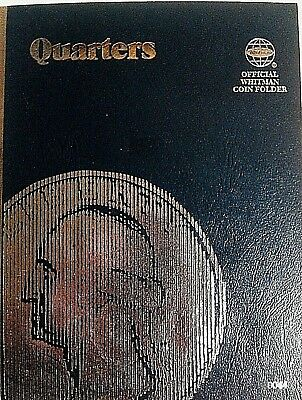 9044 WHITMAN FOLDER for Quarters Plain no dates