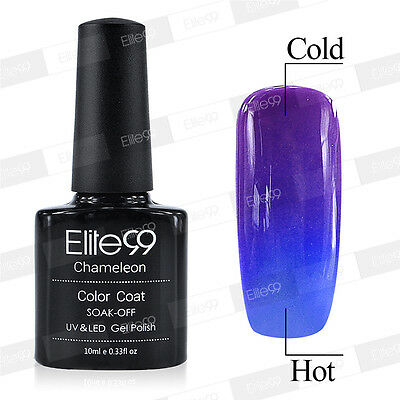 Elite99 Magnetic Thermal Change Colour UV LED Gel Nail Art Polish Soak Off 5720