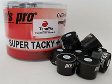 Tipp: 10er Pack Pros Pro Super Tacky Plus Griffband, schwarz, Overgrip 0,5mm