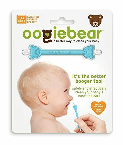 oogiebear Baby Ear Cleaner & Nose Booger Remover Tool ~ From Authorized Retailer