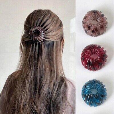 Women/'s Bird Nest Expanding Tail Hair Bun Holder Clips Claws Accessories Party