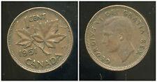 CANADA 1 cent  1951 ( bis )
