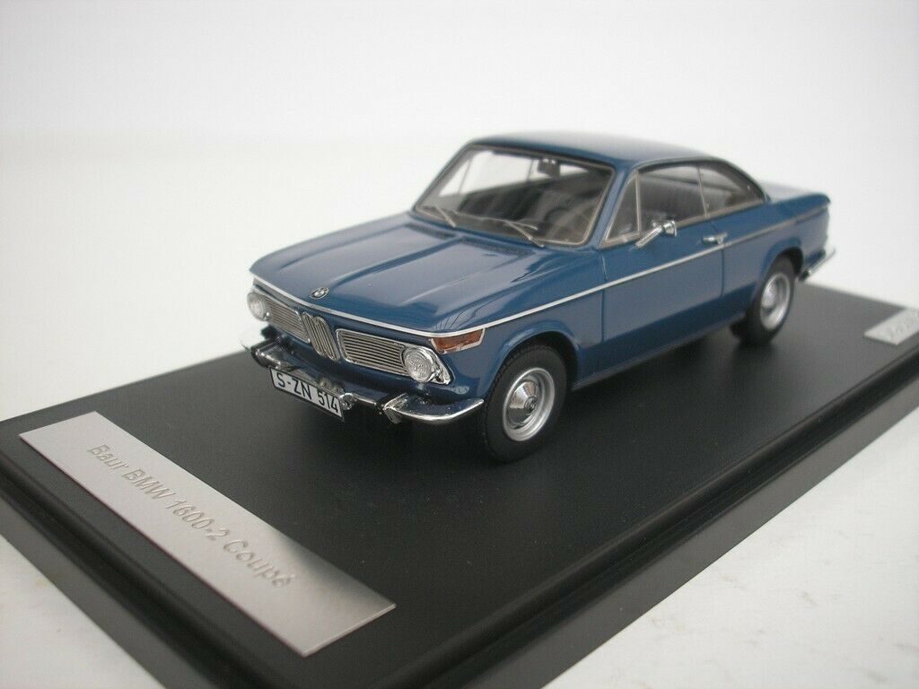 Bmw 1600-2 Baur Coupe 1967 azul 1 43 Matrix mx30202-011 nuevo