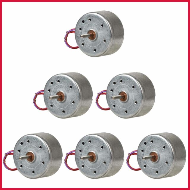 5Pack DC3V 10-20-40-80RPM Electric Motor for DIY Toys Science Experiments