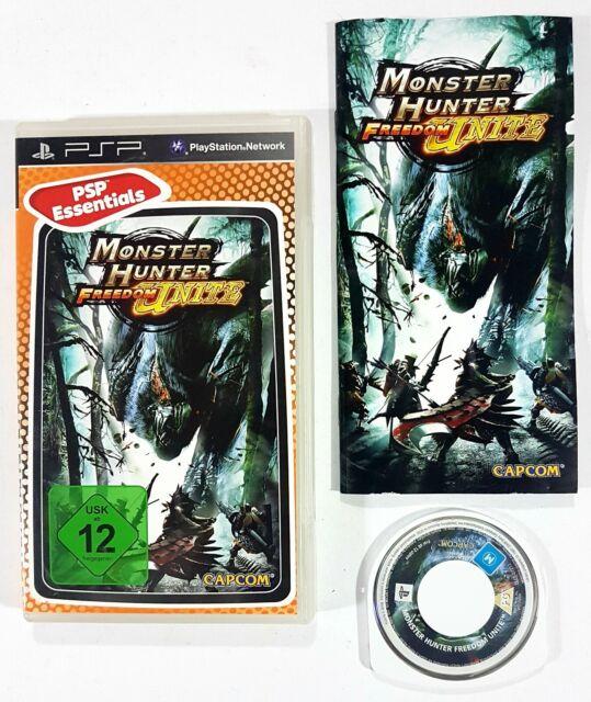 Sony Psp / Capcom Monster Hunter Freedom Unite ™ Allemagne Ovp Rôle /Multijoueur