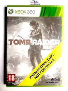 Tomb-Raider-Xbox-360-Videojuego-Neuf-Scelle-Promo-Scelle-Produit-Nouveau-Eur