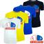 miniature 1 - T-shirt Maglia Magliette Tshirt da Uomo Cotone a Manica Corta girocollo xl xxl s