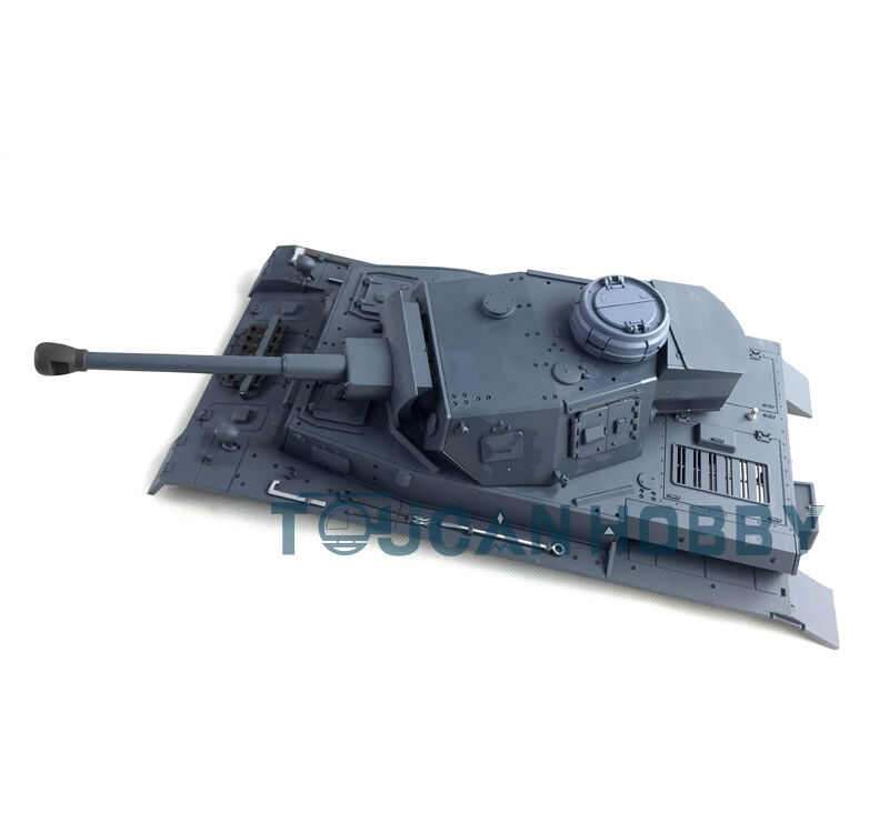 HengLong 1/16 Scale German Panzer IV F2 RC Tank 3859 Plastic Upper Hull&Turret
