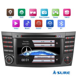 "16GB 7"" Autoradio DVD GPS Navi RDS DAB+ f. Mercedes Benz E-Klasse W211 W219 C219"