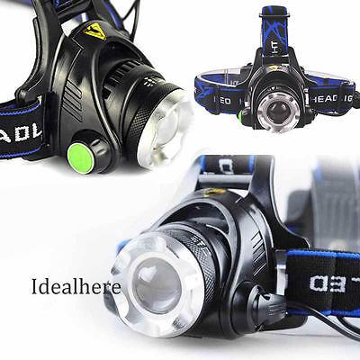 12000LM XM-L XML T6 LED Headlamp Headlight flashlight 18650 head light lamp
