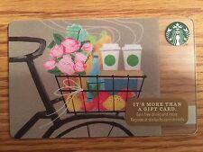 HTF Starbucks Bicycle Romance Gift Card Never Swiped NO $ VALUE