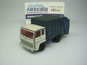 1-64-Matchbox-USADO-USED-REF-116-refuse-truck-cochesaescala