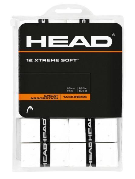 Head Xtreme Soft Weiß x 30 30 30 Griffbänder für Tennis Grips a7eeec