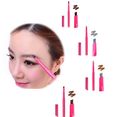5Colors Waterproof Longlasting Eyeliner Eyebrow Pencil Cosmetics Makeup Tool