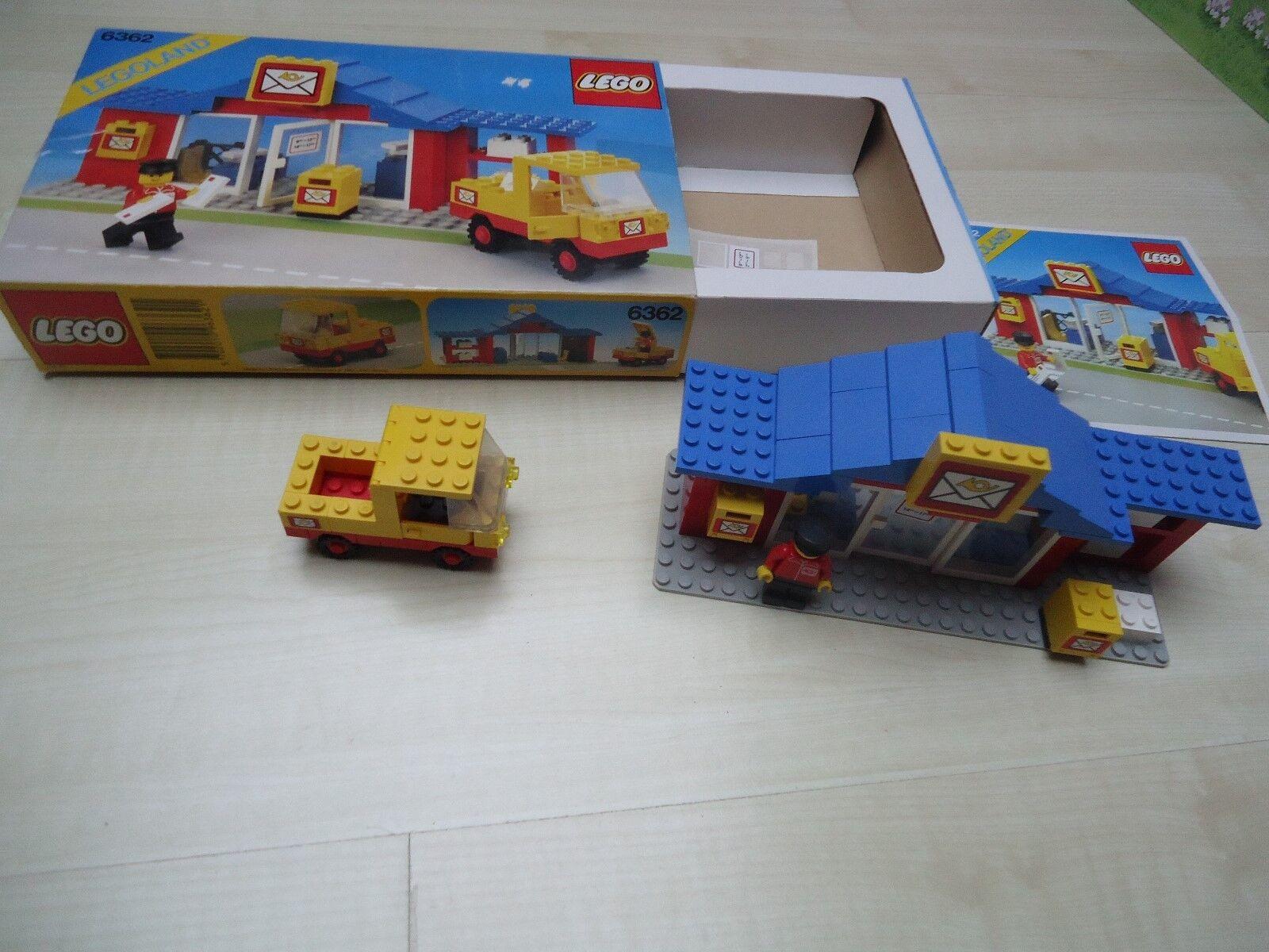 Lego Postamt mit Paketwagen 6362 komplett OVP mit Anleitung