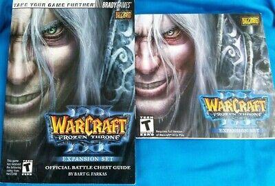Warcraft 3 Frozen Throne Booklets Ebay