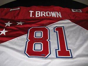 separation shoes 27148 34bdf Details about Tim Brown Oakland Raiders Pro Bowl Jersey 1995