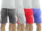 Mens Jogger Shorts Firetrap Bostall Jersey Casual Fleece Jogging Gym Pants