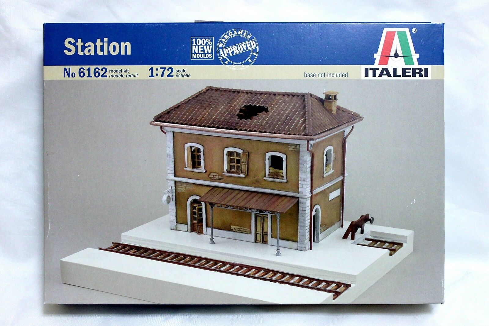 Italeri 1 72 6162 Station, WWII Military Building for Diorama