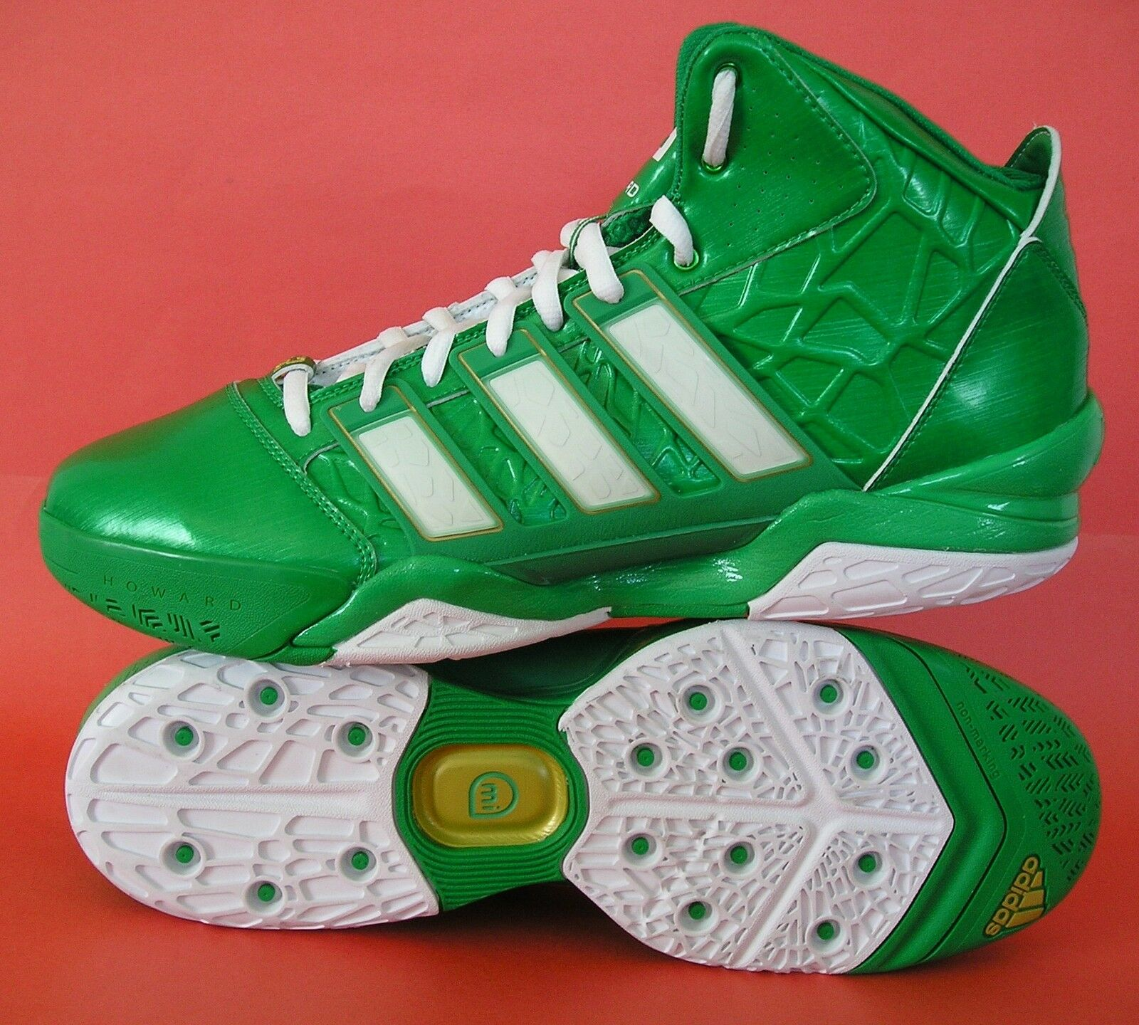 Rare ~ Adidas Adipower Howard 2 St Patrick 's Day ~ Crazy Basketball Fast Zapatos ~ Day hombres 14 4b9bc0