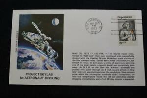 Space-Cover-1973-Macchina-Cancel-Project-Skylab-1ST-Astronauta-Docking-5289
