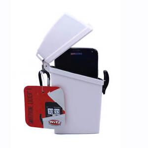 New-Witz-Smart-Phone-Locker-II-Waterproof-Case-IPhone-6-Android-Phones-White